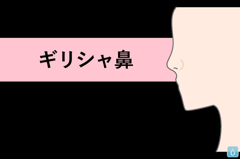 ギリシャ鼻